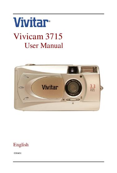 search vivitar vivitar slr film camera user manuals manualsonline com Vivitar Digital Camera Manual Vivitar Digital Camera Manual