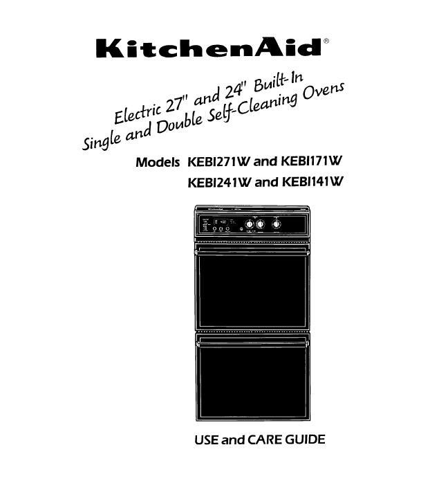 Contents contributed and discussions participated by jorge breece kitchenaid keb1271w manuals fandeluxe Images