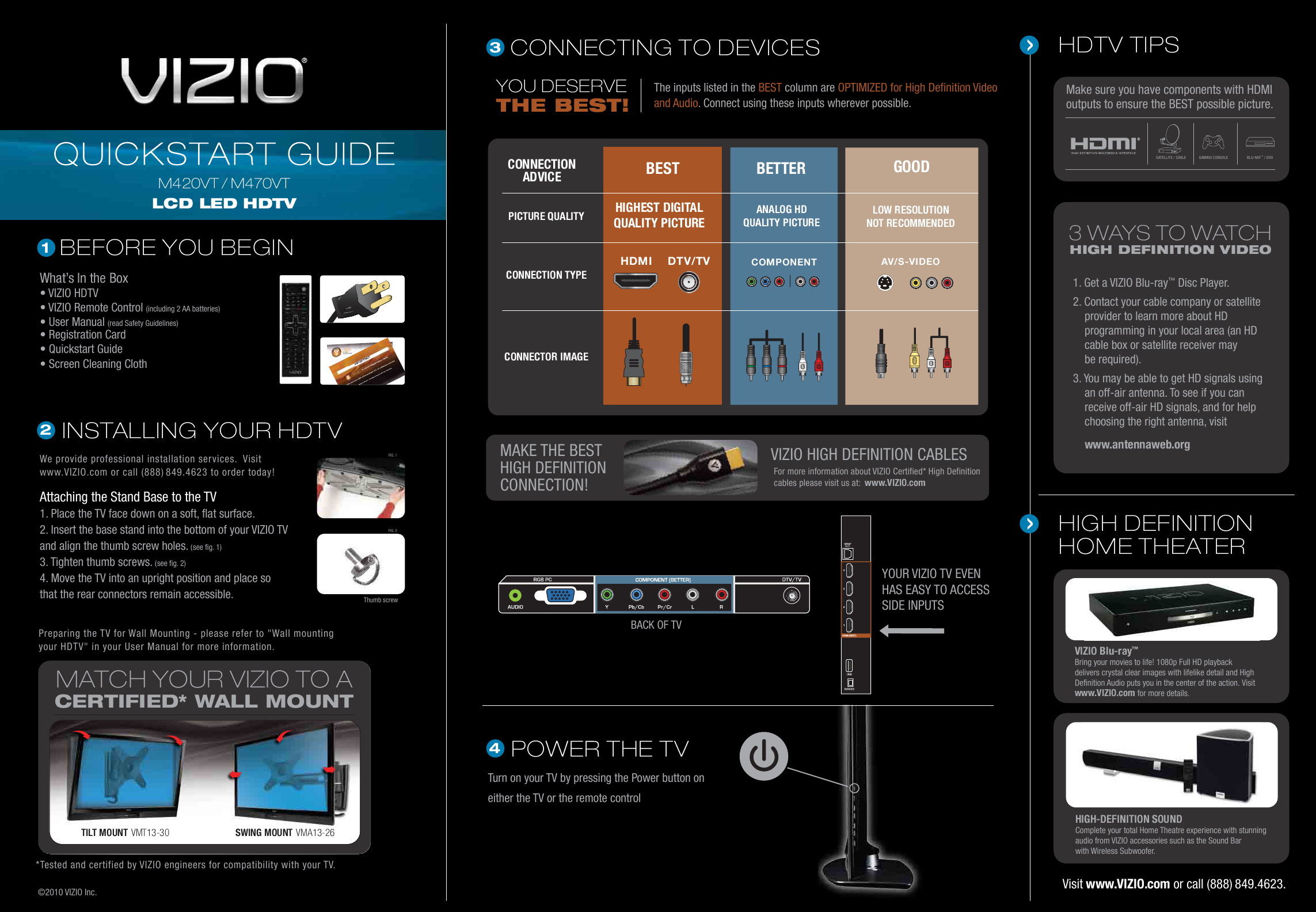 search undercounter user manuals manualsonline com rh tv manualsonline com Vizio E420 Vizio E420VO Settings