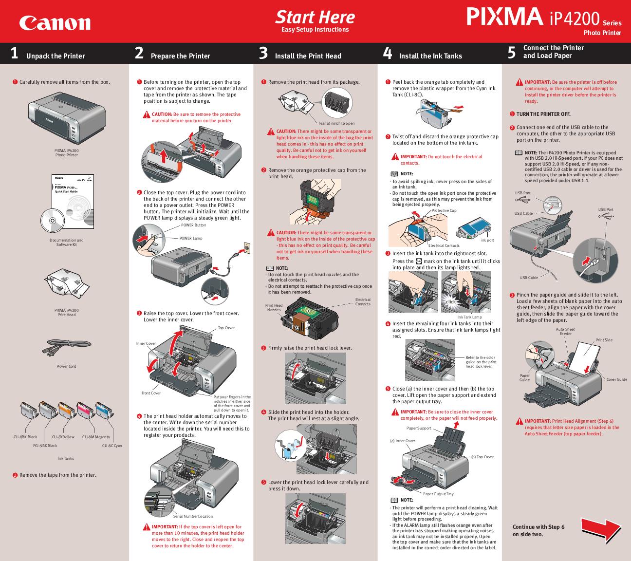 Canon Printer Ip4200 User U0026 39 S Guide
