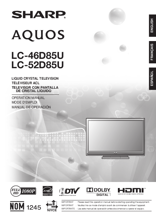 search sharp sharp lcd front projector user manuals manualsonline com rh tv manualsonline com