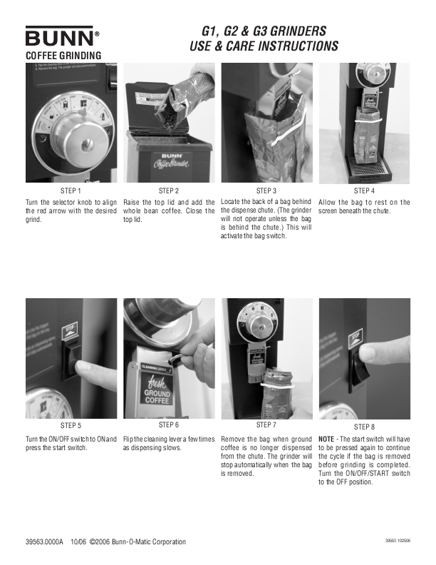 Bunn Coffee Maker Manual Troubleshooting : BUNN Operating and Service Manual ManualsOnline.com