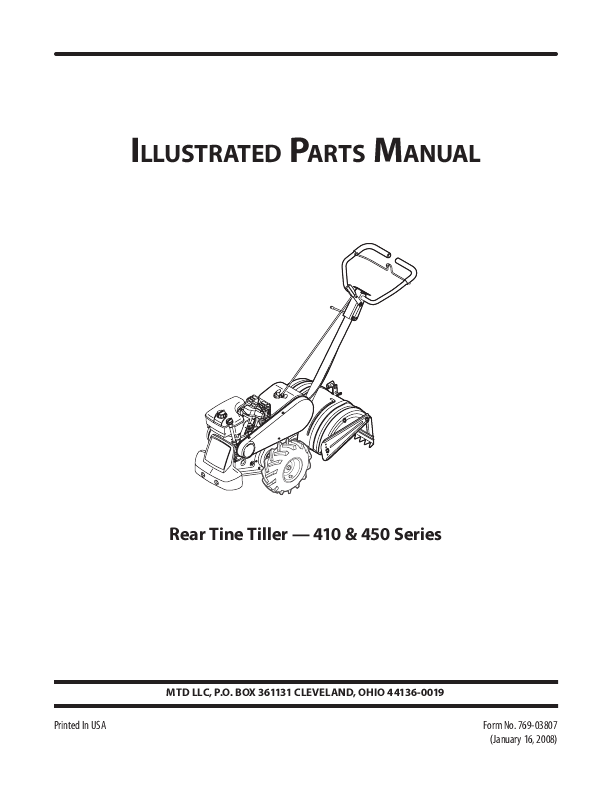 Tiller Parts Diagram Mtd Rear Tine Tiller Diagram