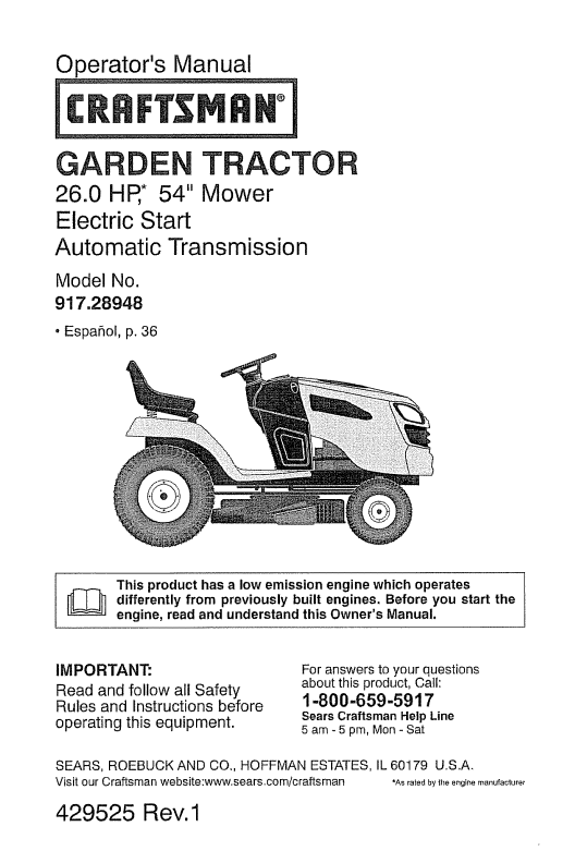 John deere lawn mower idles rough. What to do? [Archive