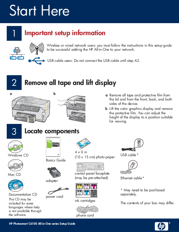 Search printer user manuals manualsonline hp hewlett packard series c6100 publicscrutiny Images