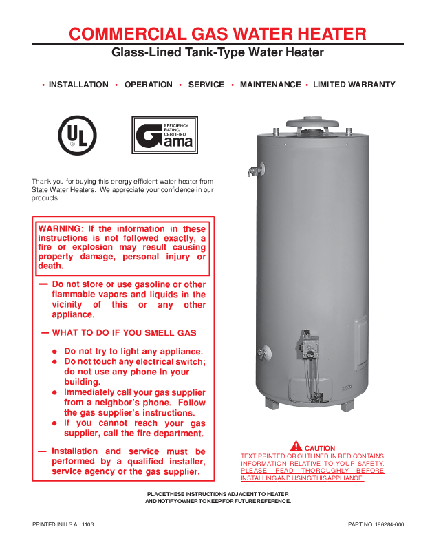 state water heaters  electric