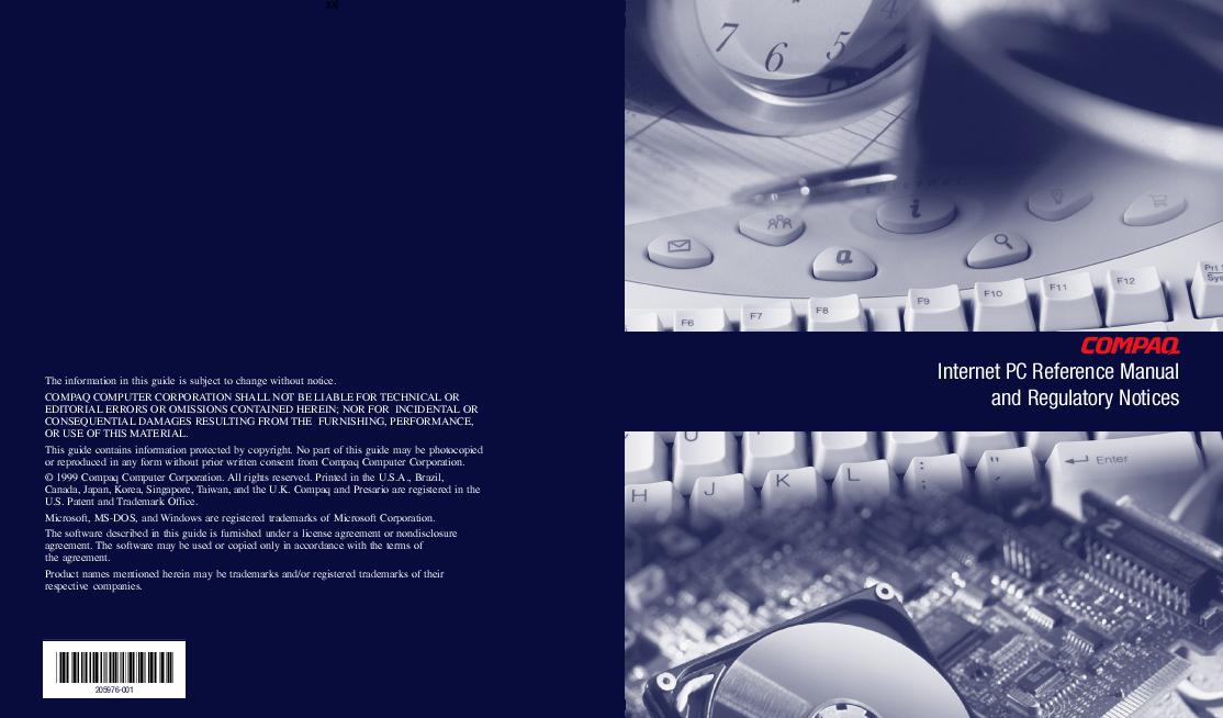 compaq presario cq61 user manual