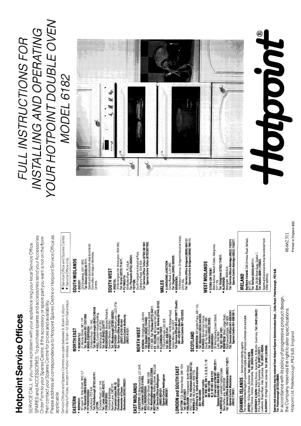 search hotpoint self cleaning user manuals manualsonline com rh kitchen manualsonline com Hotpoint Oven Manual Self-Cleaning Hotpoint Wall Oven Manual