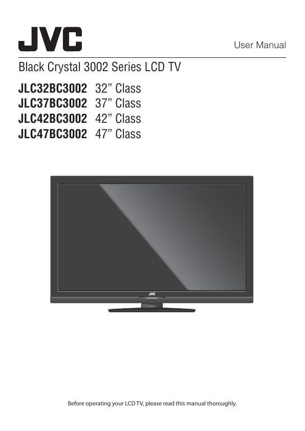search jvc jvc lcd hdtv user manuals manualsonline com rh tv manualsonline com JVC Audio JVC AVCHD Everio