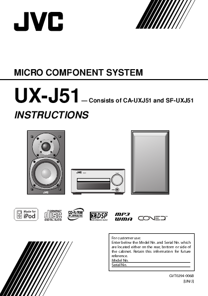 search jvc jvc home theater system user manuals manualsonline com rh tv manualsonline com Home Theater Manual JVC Th31 XV JVC TH C60