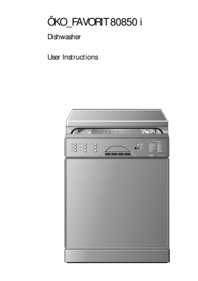 search dishwasher soap user manuals manualsonline com rh manualsonline com  aeg favorit 35085vi dishwasher manual