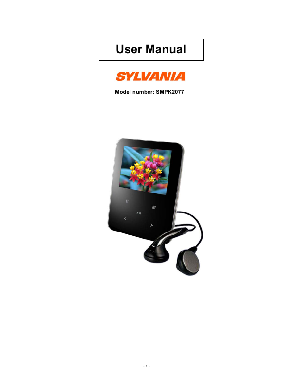search player user manuals manualsonline com rh tv manualsonline com MP3 Player 4GB sylvania smpk4083 mp3 player manual